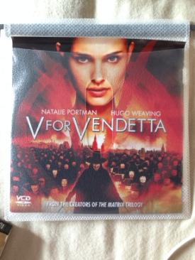 V for Vendetta - Video CD cover