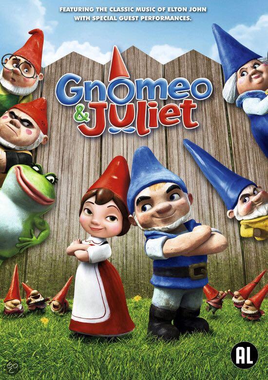 Gnomeo & Juliet -  cover