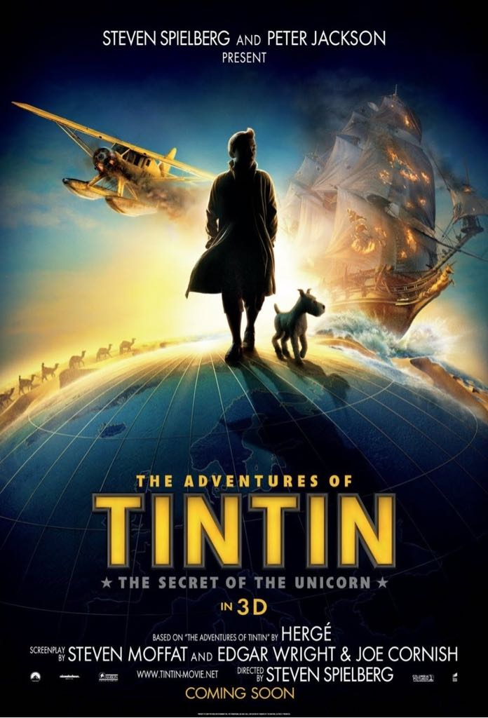 The Adventures Of Tintin - HD DVD cover