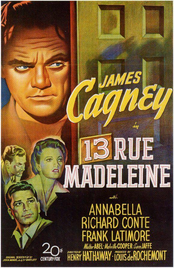 13 Rue Madeleine -  cover
