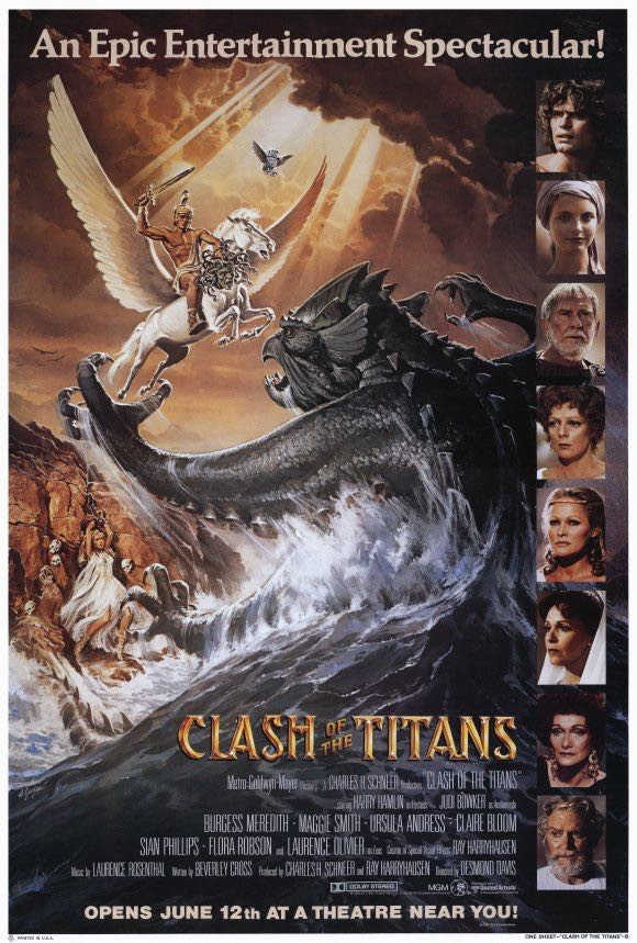 Clash of the Titans (1981) -  cover
