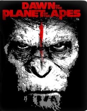 el amanecer del planeta de los simios - Blu-ray cover