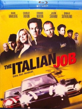 The Italian Job - Blu-ray cover