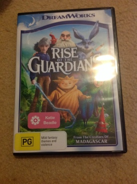 Rise Of The Guardians - DVD cover