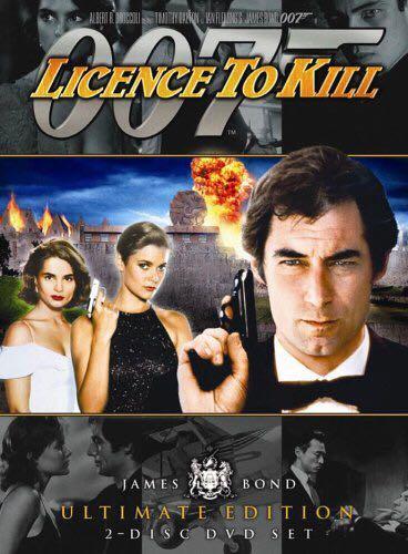 007: License To Kill - DVD cover