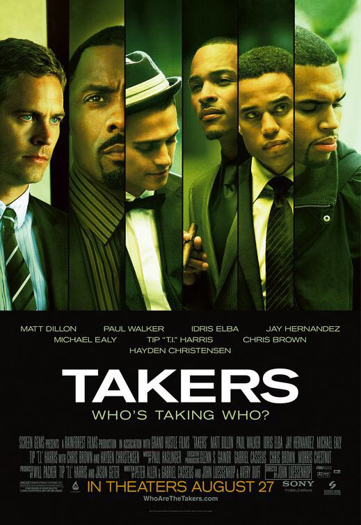Takers -  cover