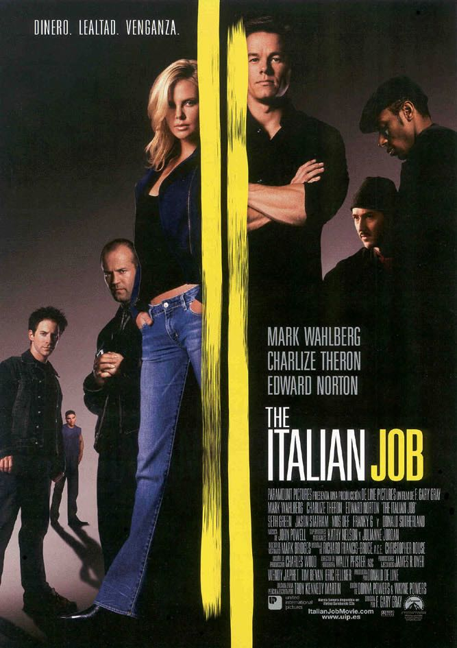 The Italian Job - Digital Copy cover