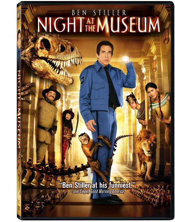 Night At The Museum -  cover