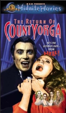 The Return Of Count Yorga - DVD cover