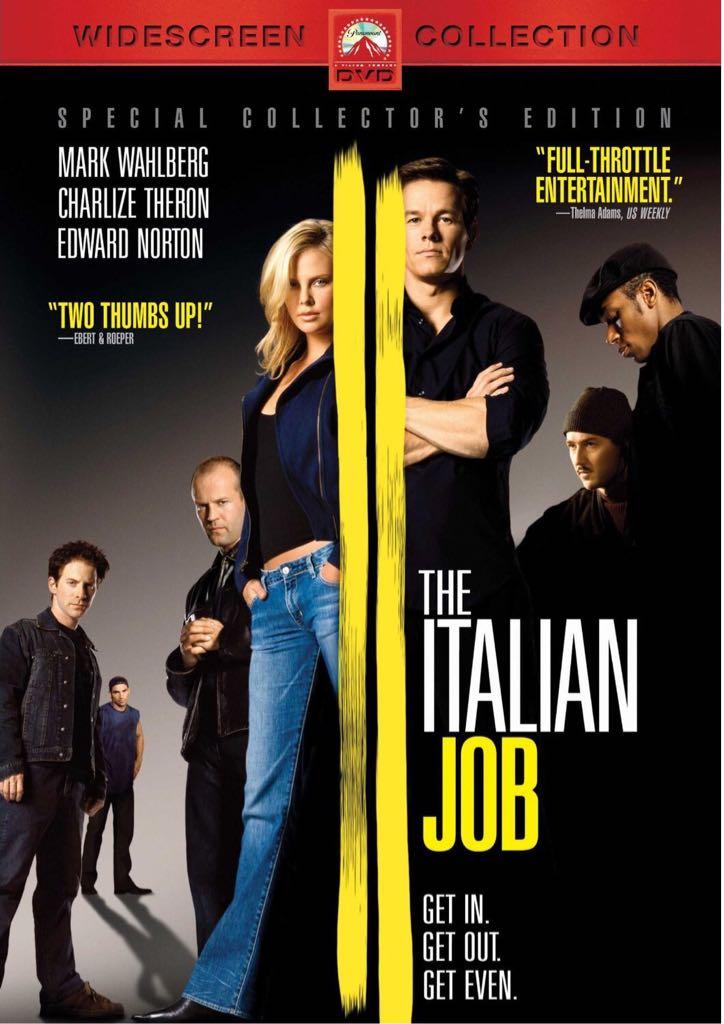 Italian Job -  cover