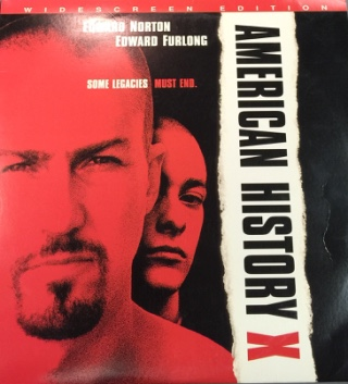 American History X - Laser Disc cover