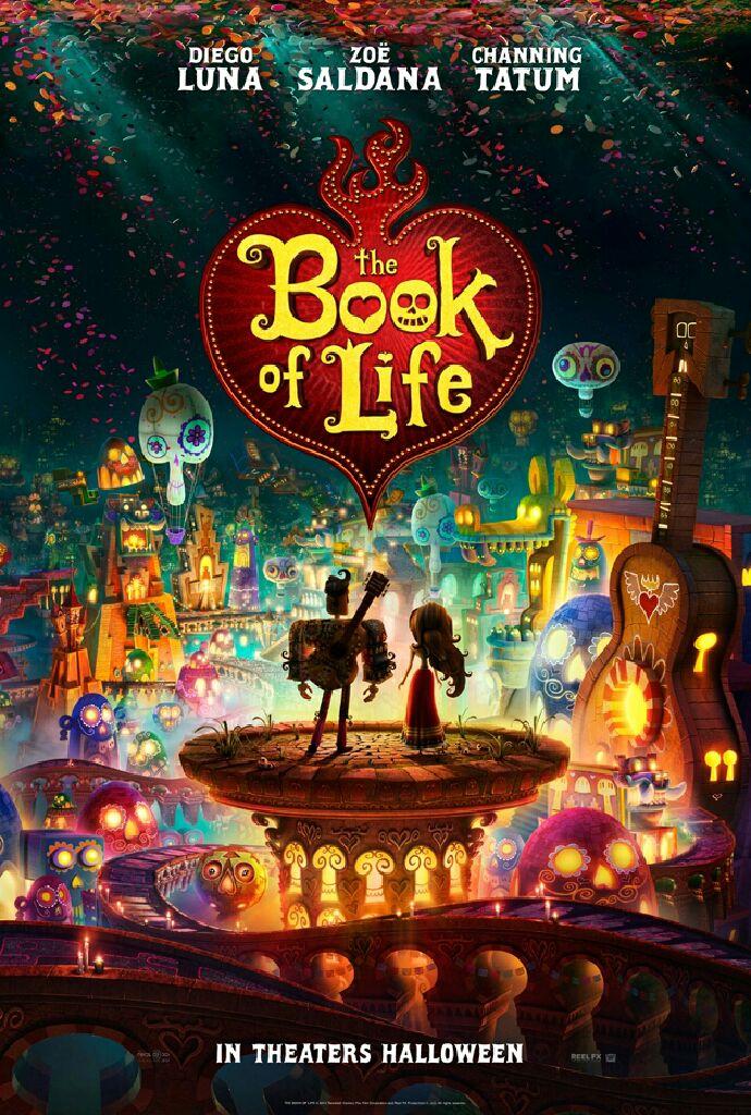 Book of Life - Manolos magiska resa - Blu-ray cover