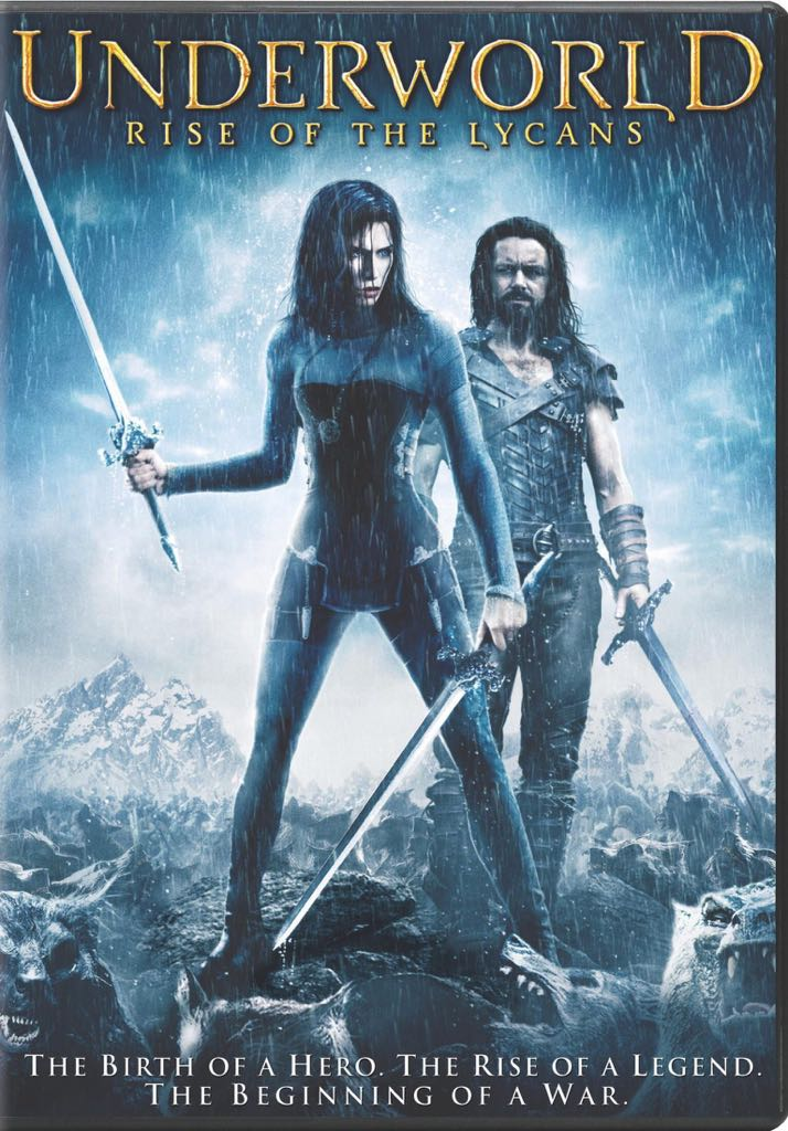 Underworld: Rise of the Lycans - DVD cover