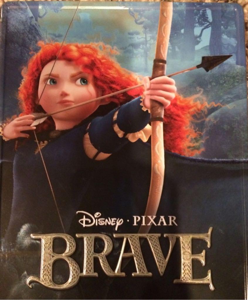Brave - DVD cover