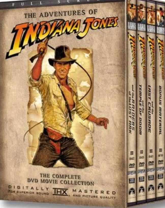 The Adventures Of Indiana Jones -  cover