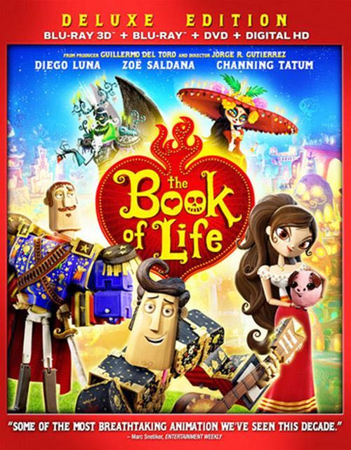 Book of Life  - Blu-ray cover