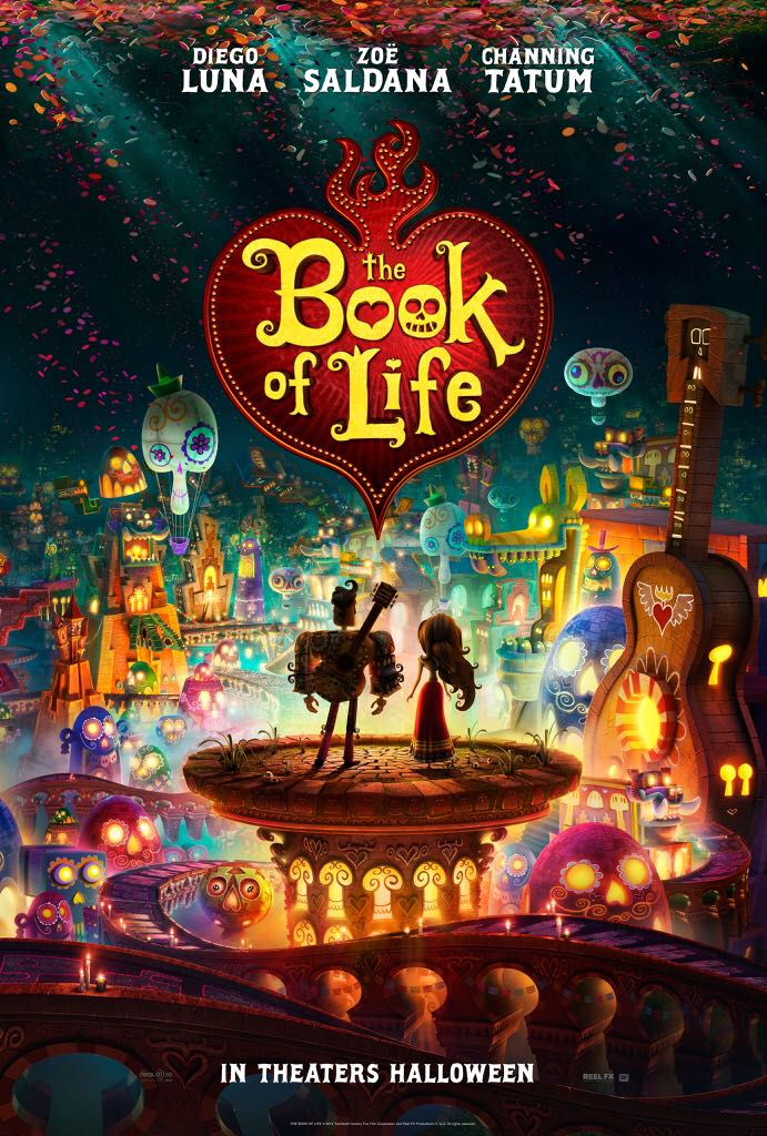 The Book Of Life - DVD cover