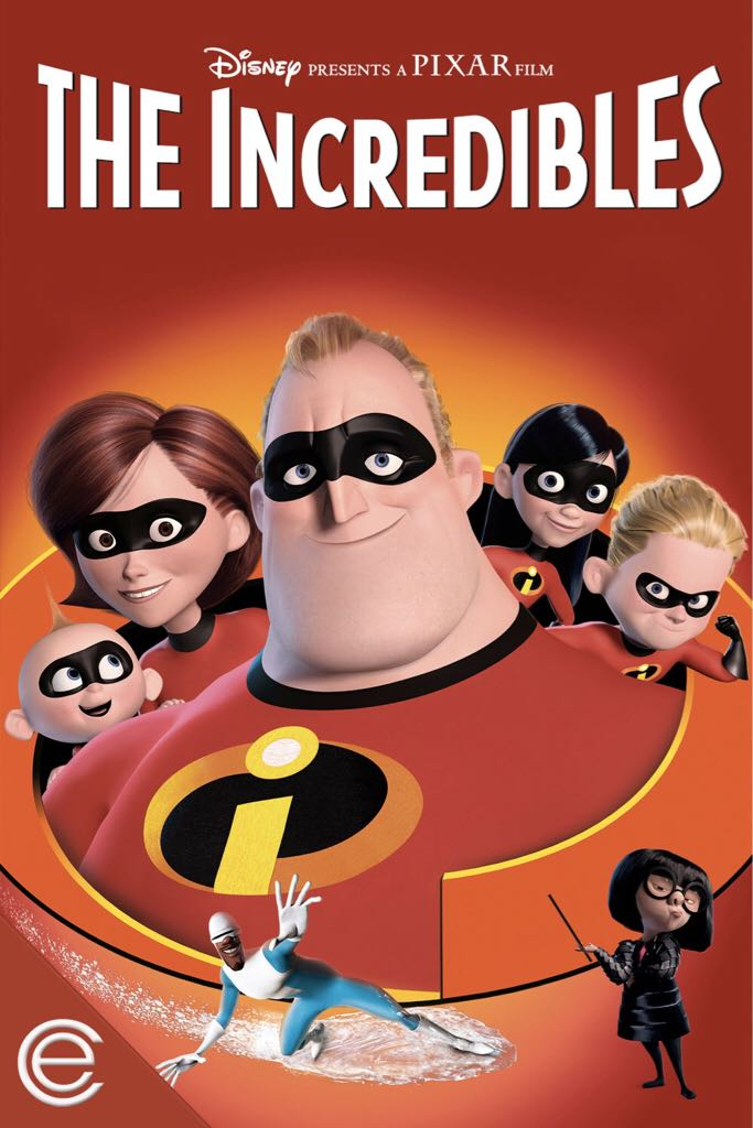 The Incredibles - CED cover
