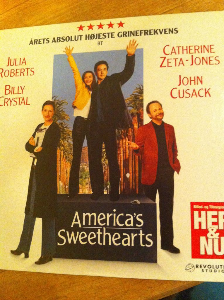 America's Sweethearts -  cover