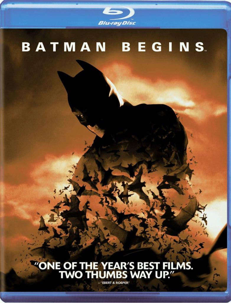 Batman Begins - Blu-ray cover