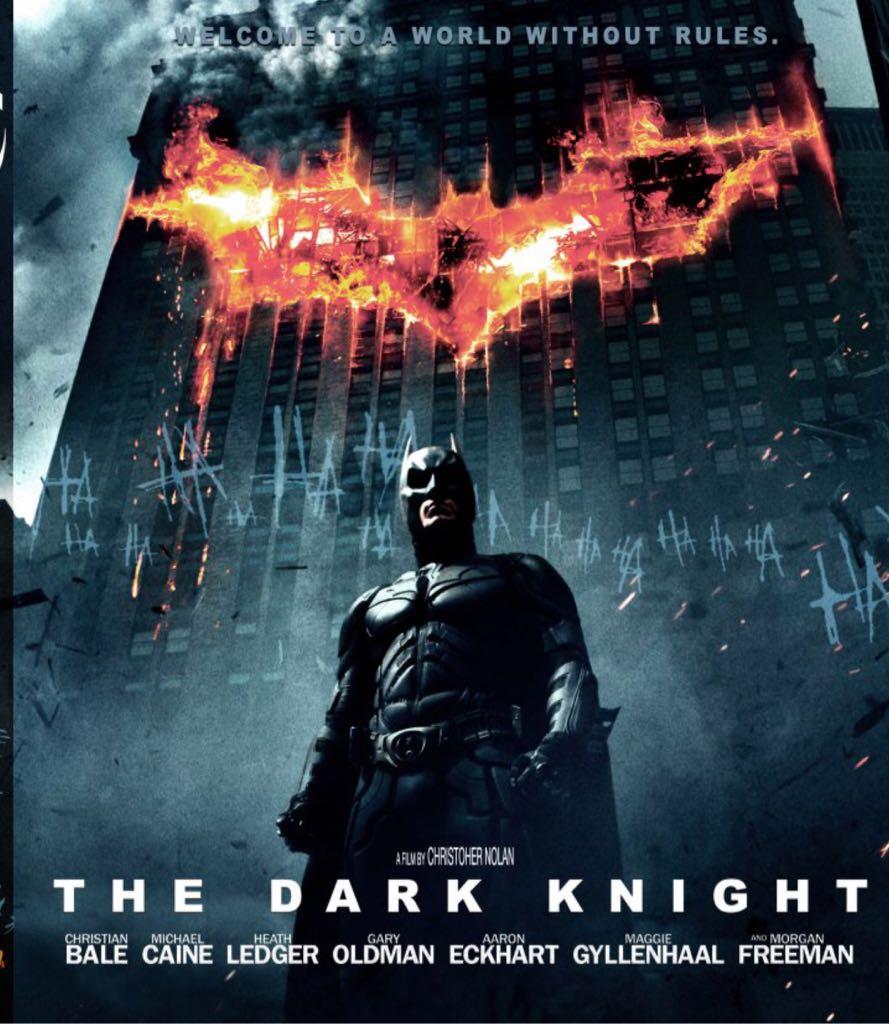 Batman 2: The Dark Knight - DVD cover