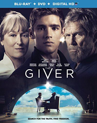 The Giver - Blu-ray cover