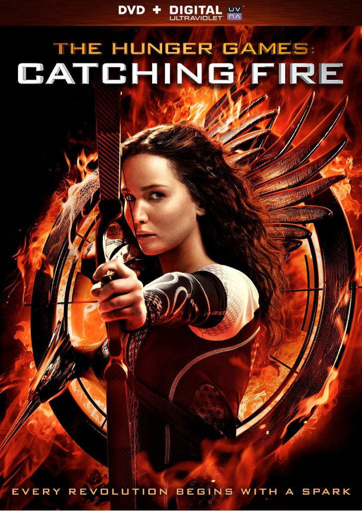 The Hunger Games 2: Catching Fire - DVD cover