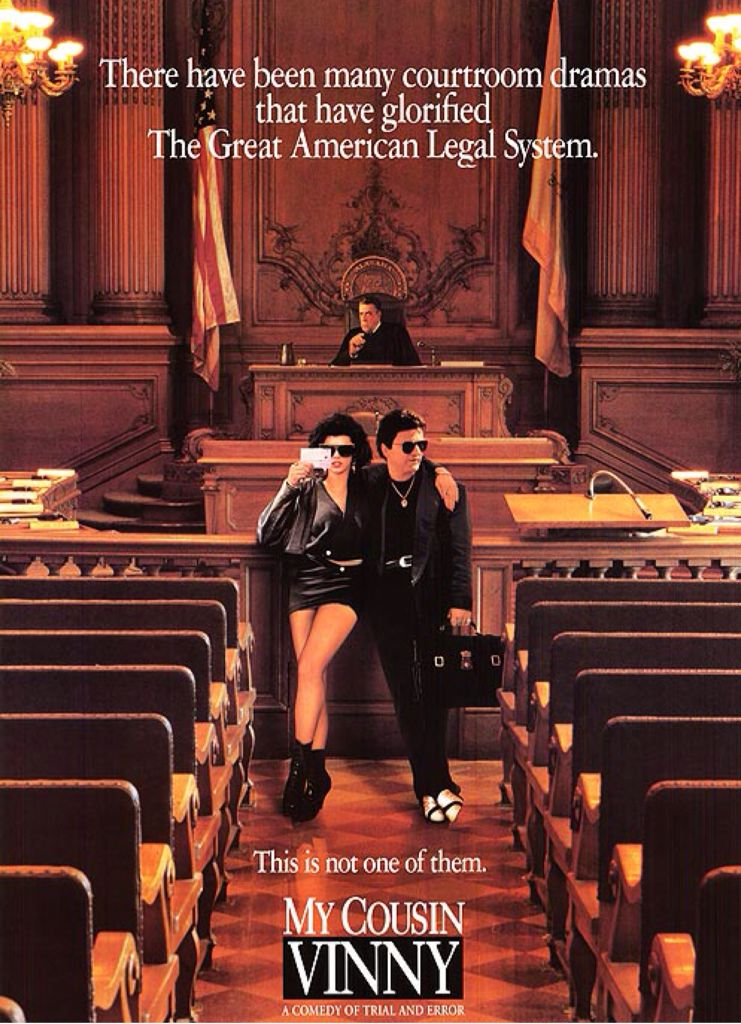 My Cousin Vinny - Blu-ray cover