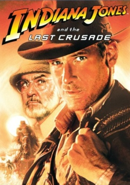 Indiana Jones And The Last Crusade - DVD cover