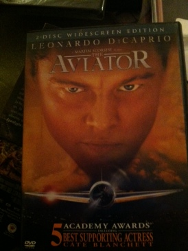 The Aviator - DVD cover