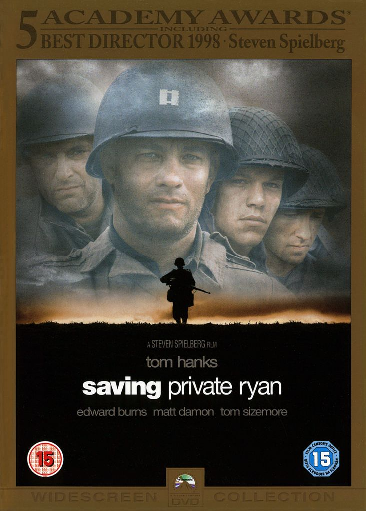 Saving Private Ryan -  cover