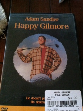 Happy Gilmore - DVD cover