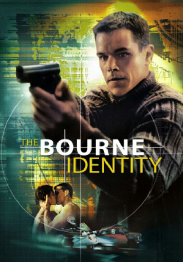 The Bourne Identity - Digital Copy cover