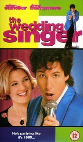 The Wedding Singer - Blu-ray cover
