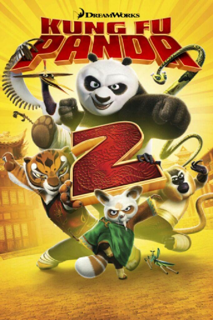 Kung Fu Panda 2 - DVD cover