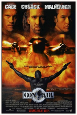 Con Air - CED cover