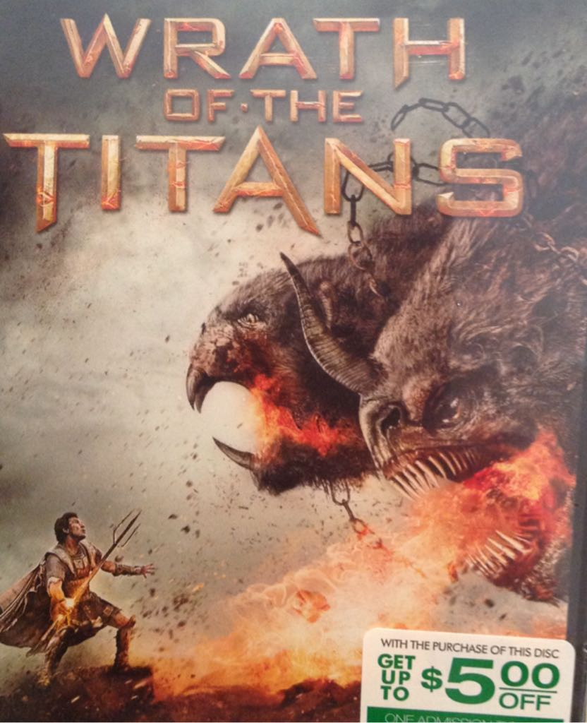 Wrath Of The Titans -  cover