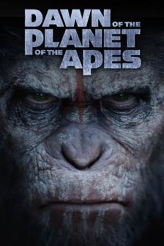 Planet Of The Apes 8: Dawn of the Planet of the Apes - Blu-ray cover