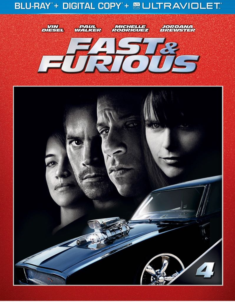 Fast & Furious - DVD cover