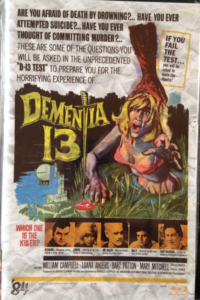 Dementia 13 -  cover