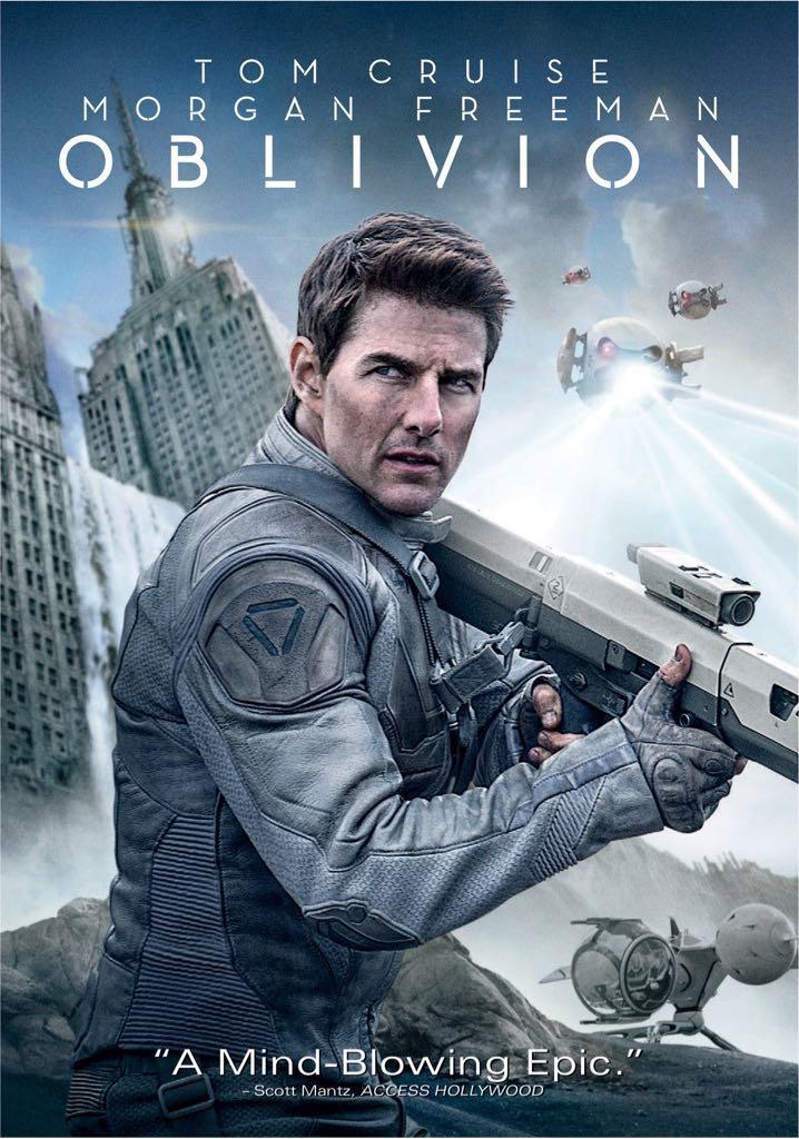 Oblivion - DVD cover