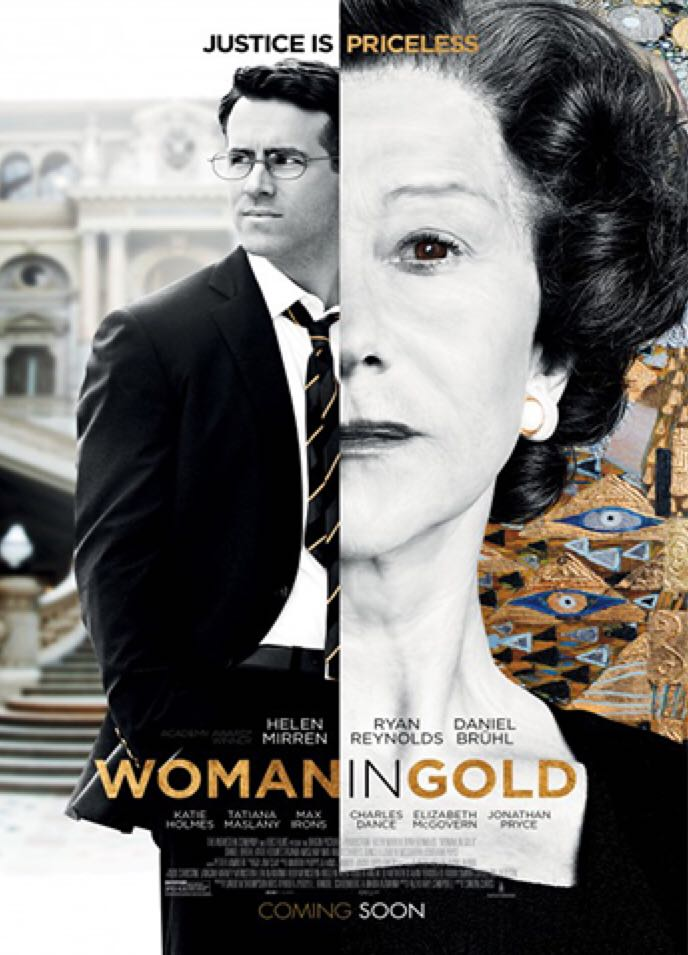 Woman In Gold - Blu-ray cover