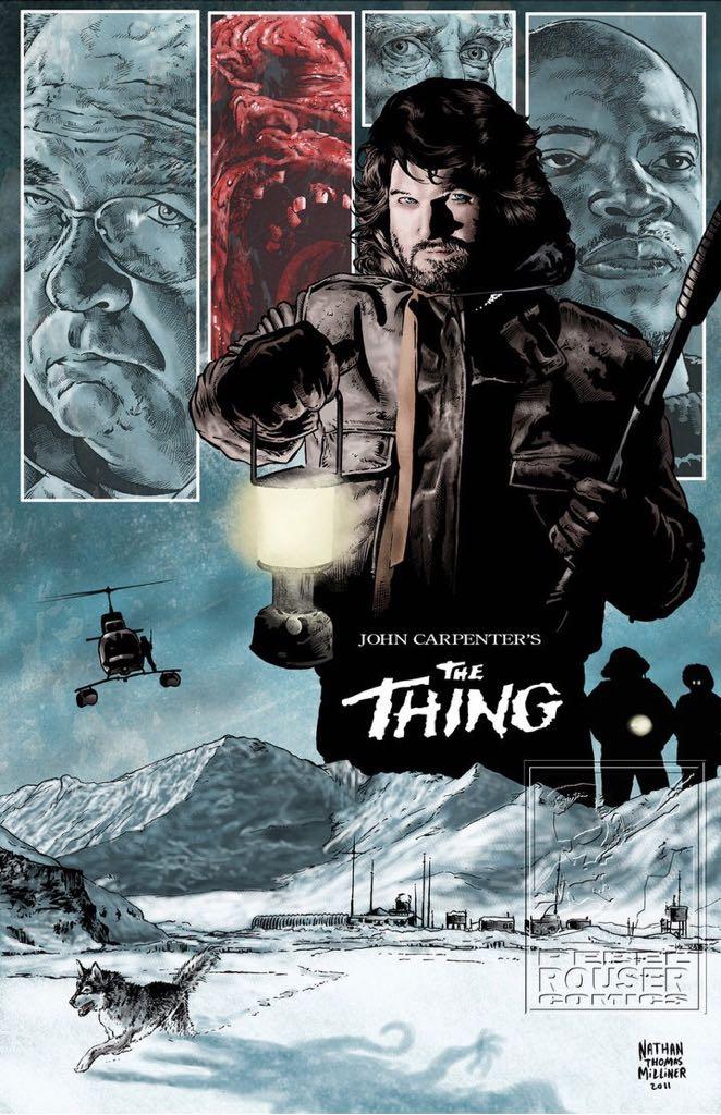 John Carpenter's The Thing -  cover