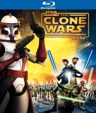 Star Wars The Clone Wars - Blu-ray cover