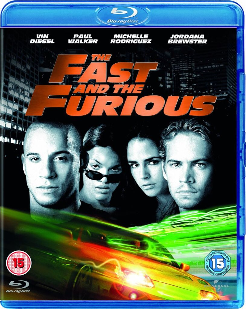 The Fast and the Furious -  cover