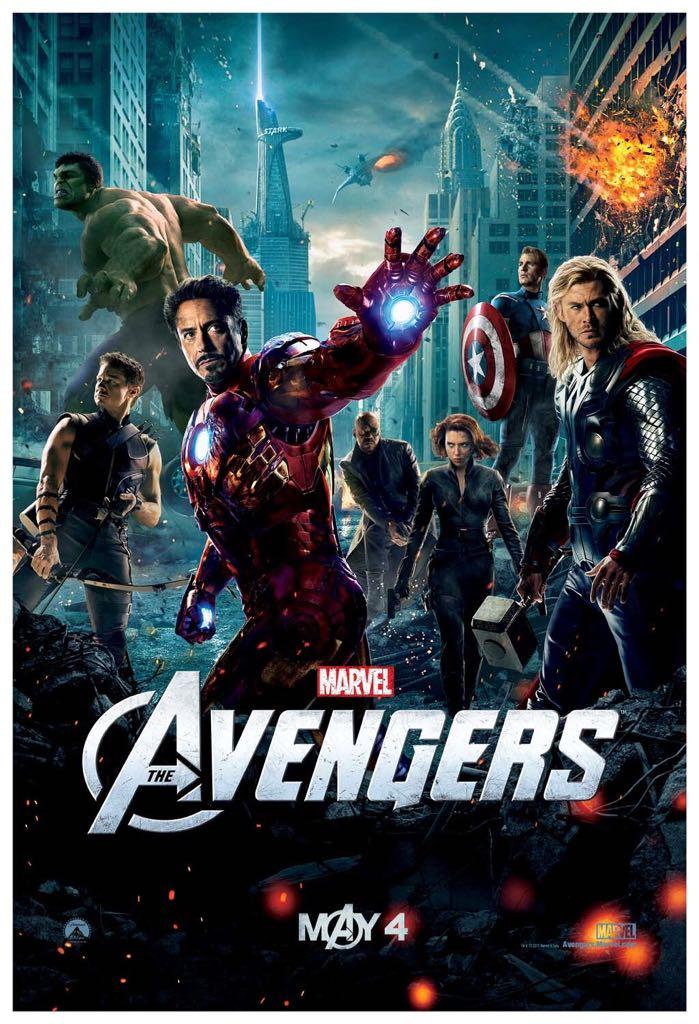 Avengers -  cover