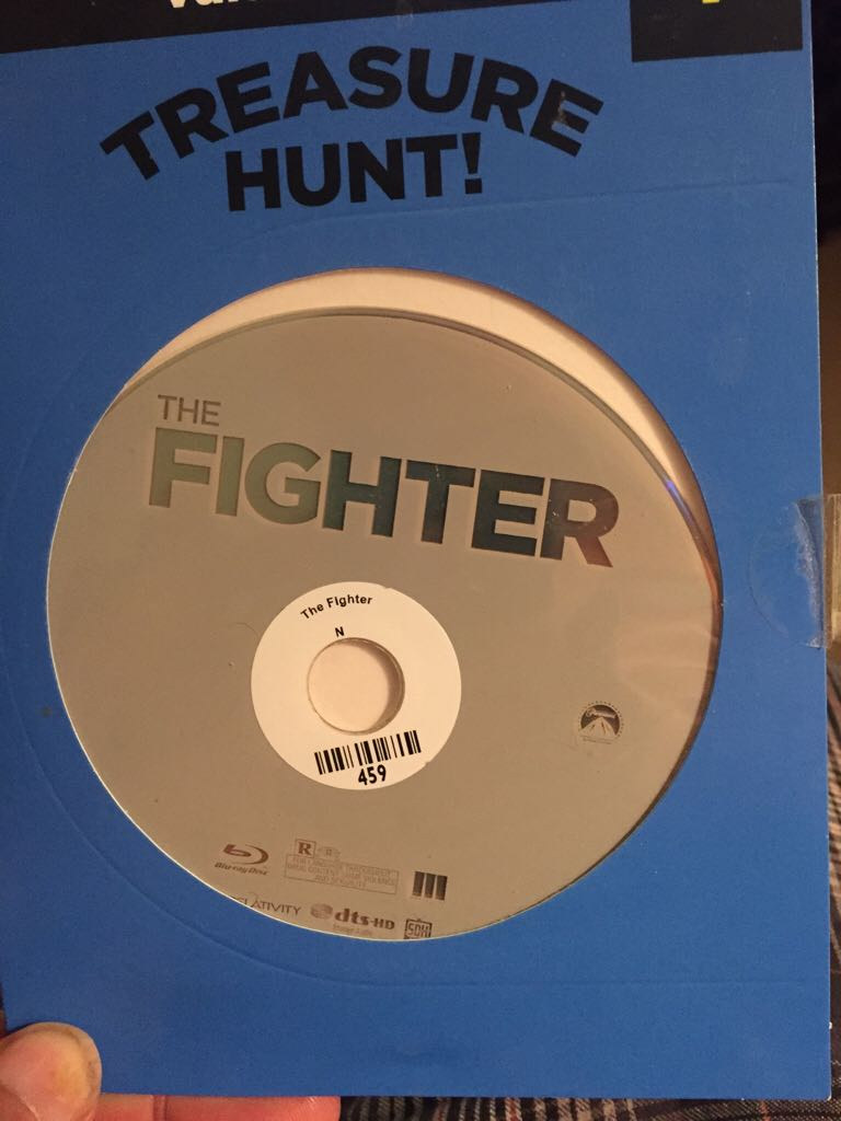 The Fighter -  cover