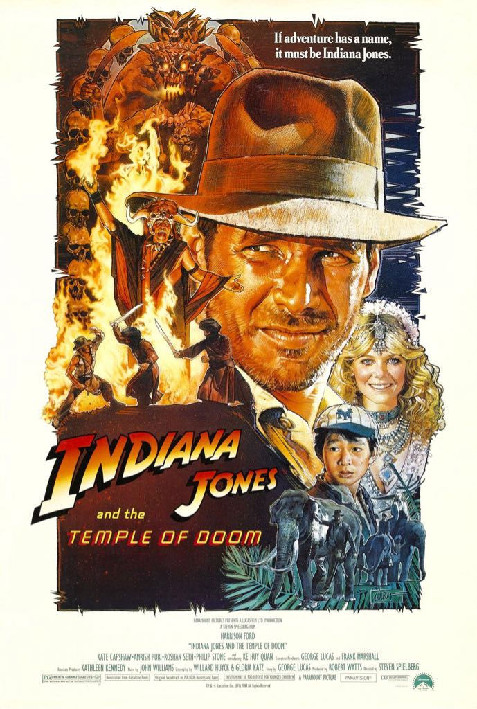 Indiana Jones and the Temple of Doom -  cover