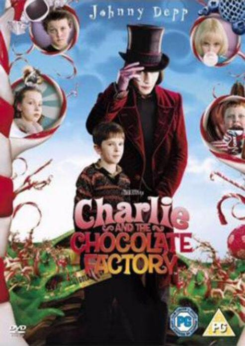 Charlie and the Chocolate Factory -  cover
