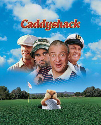 Caddyshack - Betamax cover